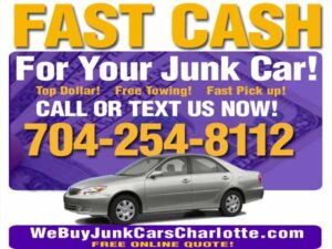 Junk Cars Craigslist Posting