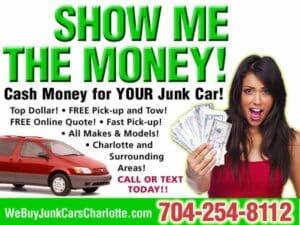 Cash Money For Junk Car Craigslist Image